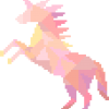 Pink Unicorn Cross Stitch Pattern, embroidery, unicorn cross stitch kit, leia patterns