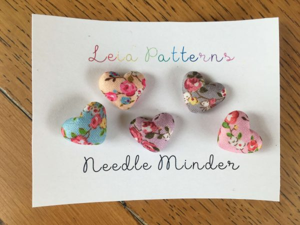 Heart Needle Minders - Cute Mini Needle Holders